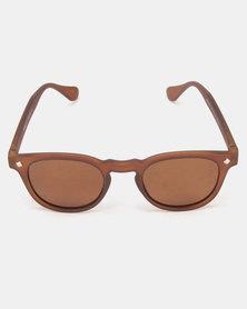 Move Sunglasses Round Brown