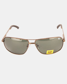 CAT Eyewear Tack Sunglasses Brown