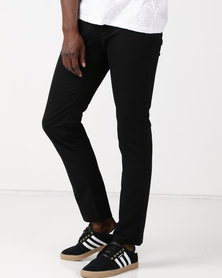New Noble Slim Fit Trousers Black