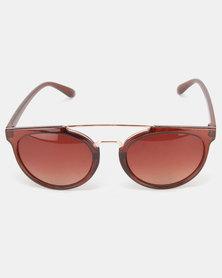Utopia Fashion Sunglasses Brown