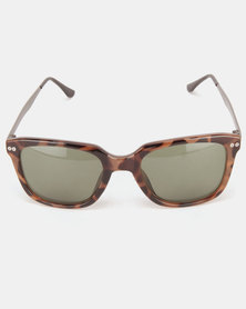 Utopia Lisa Fashion Sunglasses Brown