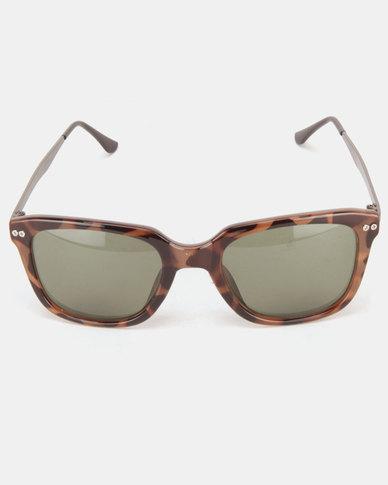 Utopia Lisa Fashion Sunglasses Brown