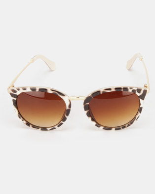 Utopia Jessie Statement Sunglasses Animal