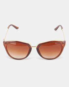 Utopia Jemma Sunglasses Brown