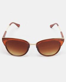 Utopia Janine Sunglasses Brown