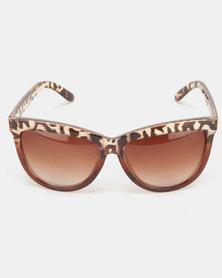 Utopia Julia Sunglasses Brown