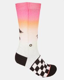 Stance Baecation Crew Socks Multi