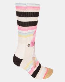 Stance Call Me Bev Socks Pink