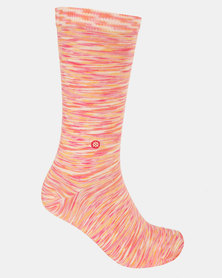 Stance Spacer Crew Socks Red