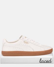 Puma Sportstyle Prime Basket Classic Gum Deluxe Sneakers Puma White-Met