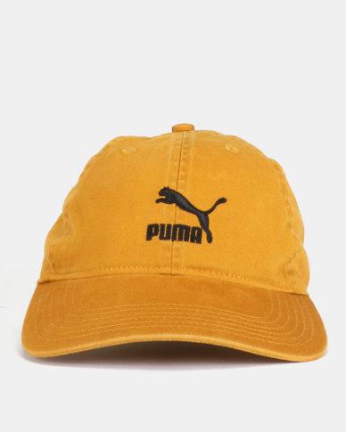 new concept ee54b 66cf8 Puma Sportstyle Core Archive BB Cap Mustard   Zando