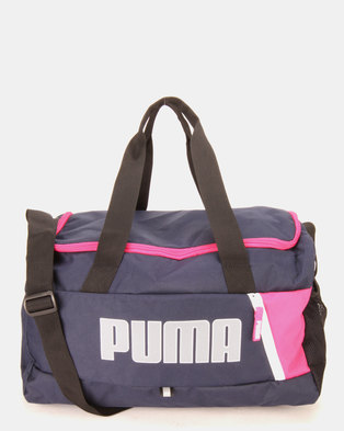 c6c073565e5e Puma Sportstyle Core Fundamentals Sports Bag Blue