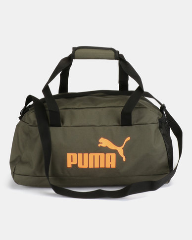 7336afba0aa1 Puma Sportstyle Core Phase Sport Bag Green