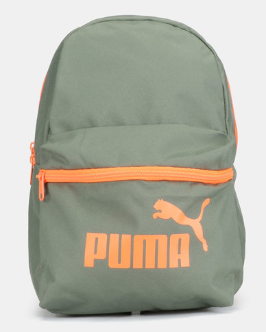 a29c4a8c92ca Puma Sportstyle Core Phase Small Backpack Green