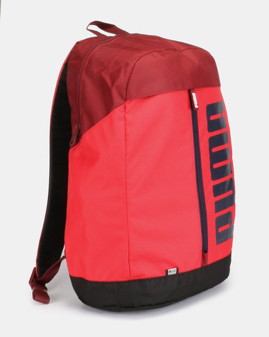 Puma Sportstyle Core Pioneer Backpack Red