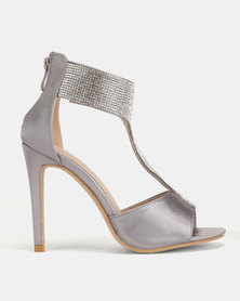 PLUM T Bar Heels Pewter