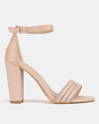 24787674704 PLUM Block Heels Pink