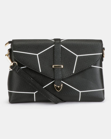 Utopia Crossbody Bag Black