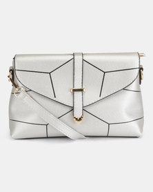 Utopia Crossbody Bag Silver