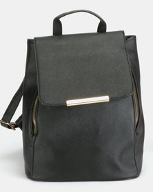 Utopia PU Backpack Black