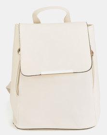 Utopia PU Backpack White