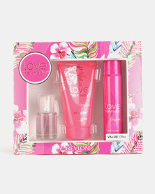 DISC Revlon Love Her Madly Fragrance And Body Lotion Gift Set
