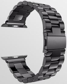Gretmol Bead Apple Watch Strap & Spring Bar Tool 42 mm Black