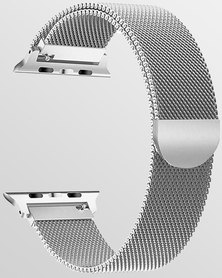 Gretmol Milanese Apple Watch Replacement Strap 38mm Silver