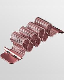 Gretmol Milanese Apple Watch Replacement Strap 38 mm Rose Pink