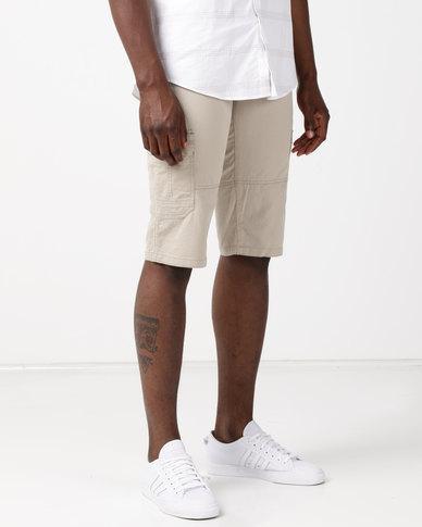 JCrew Clamdigger Shorts Khaki