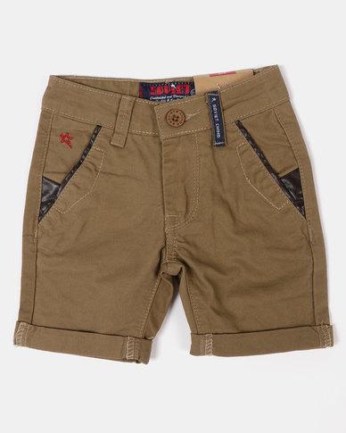 Soviet B Texan Cotton Short Khaki