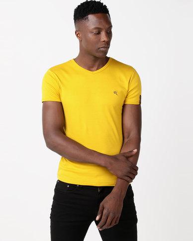 Soviet Bolt Evo Short Sleeve Muscle Fit T-Shirt Dijon