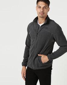 The North Face 100 Glacier Full Zip Sweatshirt Grey