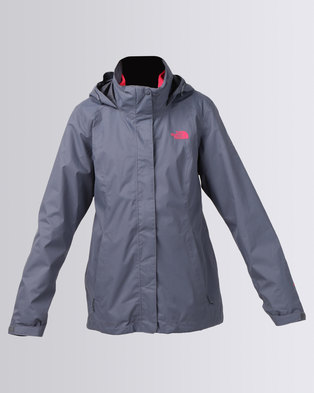 The North Face Evolve II Triclimate Jacket Grey/Pink