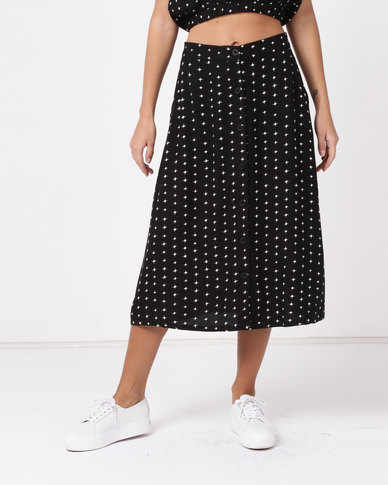 RVCA Dipper Skirt Black