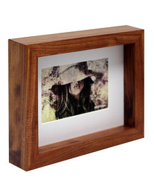 NovelOnline Vogue Birchwood Photo Frame with Mount