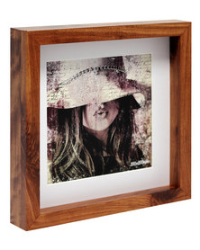 NovelOnline Vogue Birchwood Photo Frame with Mount