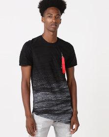 K Star 7 Retro Comet T-Shirt Black