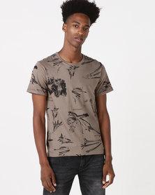 K Star 7 Rico T-Shirt Olive
