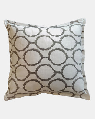 Fundi Light & Living Round About Scatter Cushion Grey