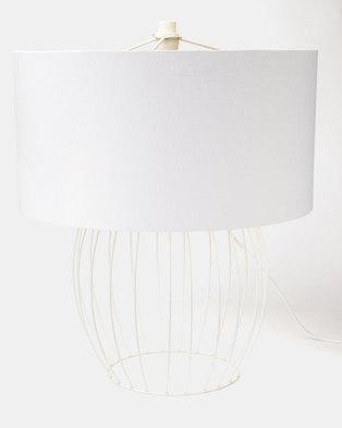 Fundi Light & Living Baby Ally Table Lamp White