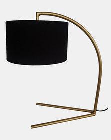 Fundi Light & Living Table Arc Lamp Black