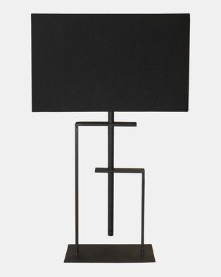 Fundi Light & Living Dylan Table Lamp Black
