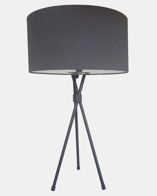 Fundi Light & Living Tripod Table Lamp Grey