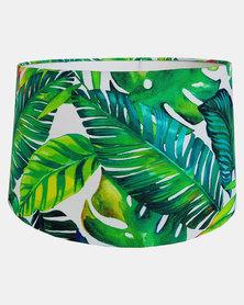 Fundi Light & Living Tropical Leaves Lampshade Green