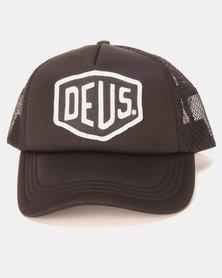 Deus Ex Machina Baylands Trucker Black/White