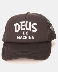 Deus Ex Machina Curvy Trucker Black