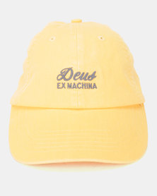Deus Ex Machina Sunbleached Cap Golden Apricot