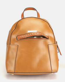 Blackcherry Bag Mini Backpack Tan