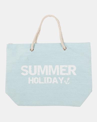 Blackcherry Bag Summer Beach Bag Light Blue